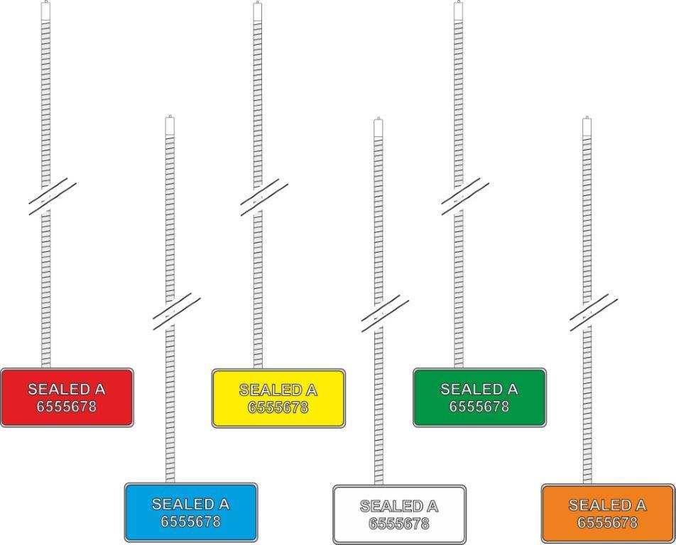 Cable seals Antitamper RFID
