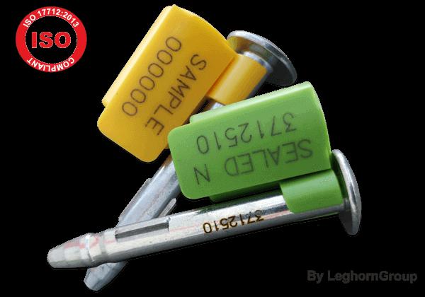 ISO 17712:2013 Hochsicherheitsplomben