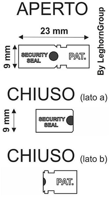 clip plomben auto seal technische zeichnung