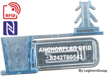 drahplomben aus kunststoff rfid uhf anchorflag