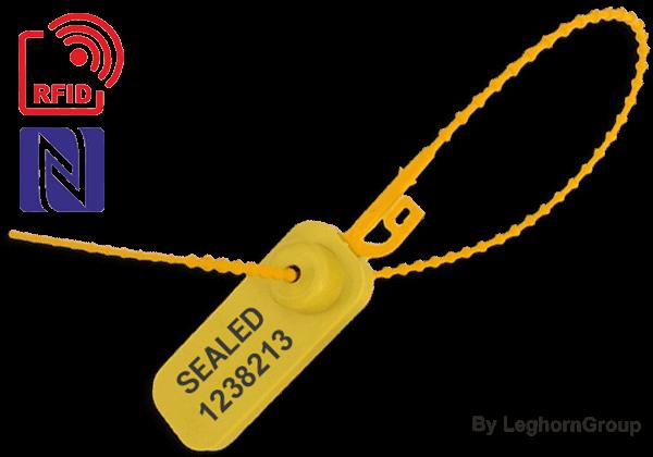 Durchziehplombe Aus Kunststoff ADJUSTE SEAL RFID – NFC