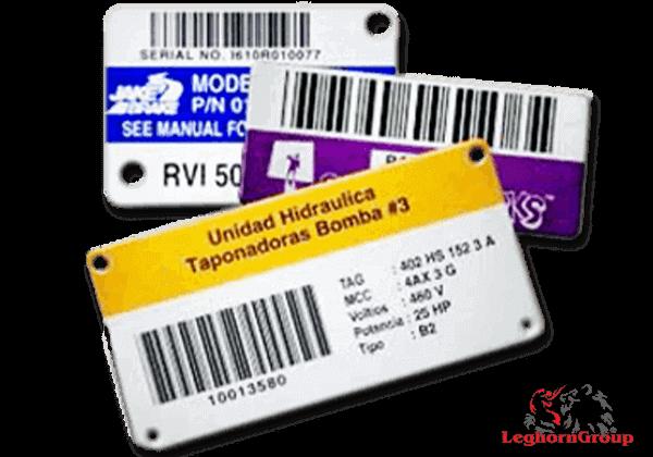 Etiketten Für Identifizierung Von Gütern