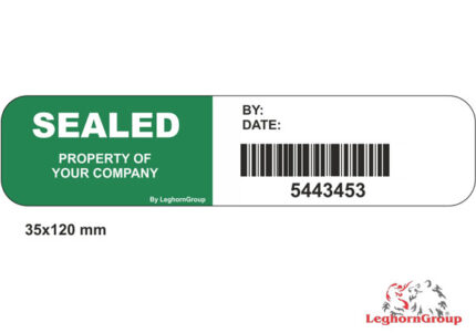 etiketten mit barcode