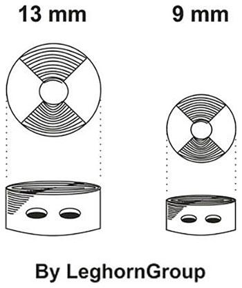 farbige quetschplomben plombex technische zeichnung