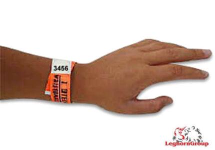identifizierende armbander aus tyvek