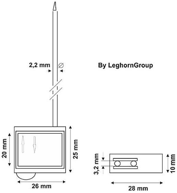 kabelplomben cronus seal technische zeichnung