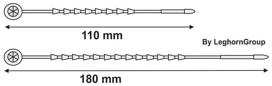 kuststoffplombe arachne seal technische zeichnung