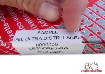 leicht zerstorbare etiketten