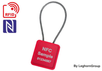 minicable rfid uhf nfc kabelplomben
