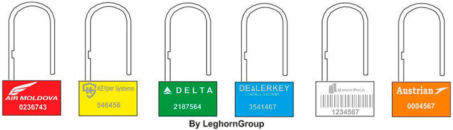 padlock plomben padlock seal 160-4 farben personalisierungen