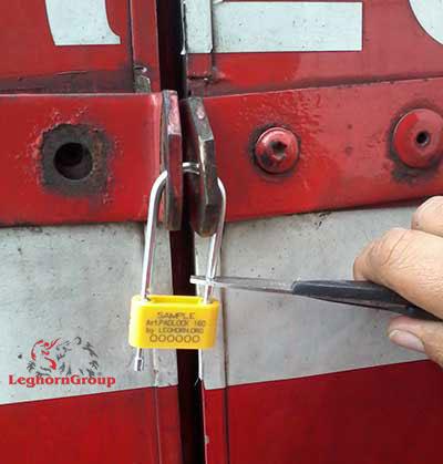 padlock plomben padlock seal 160-4 wie man es benutzt