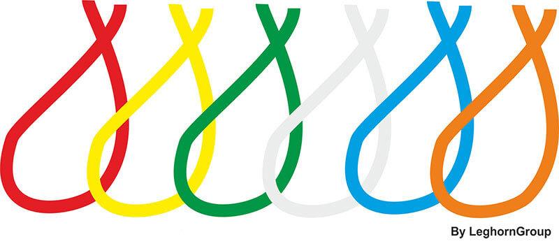 plastifizierter nylonschnur farben
