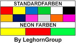 rechteckige jetons aus kunststoff farben