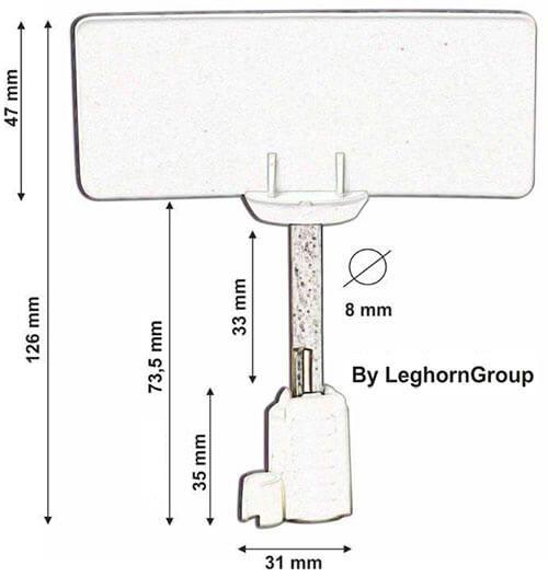 rfid bolzenplombe neptune seal technische zeichnung