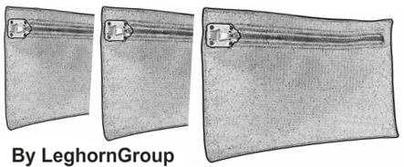 sicherheitstasche madrid technische zeichnung