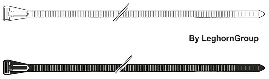 wiederverwendbare kabelbinder farben