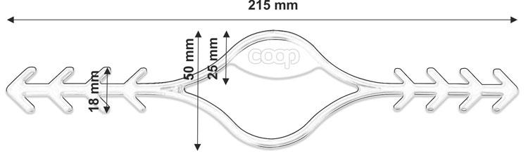 verlaengerungshaken fuer gesichtsmasken technische zeichnung