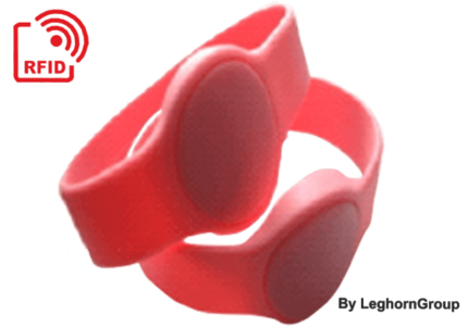 armband aus silikon mit rfid hf chip