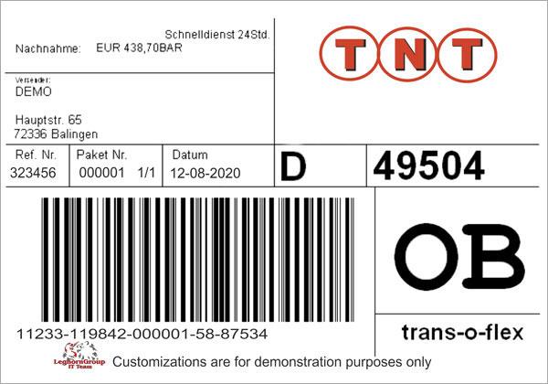 Etiketten Für Logistik