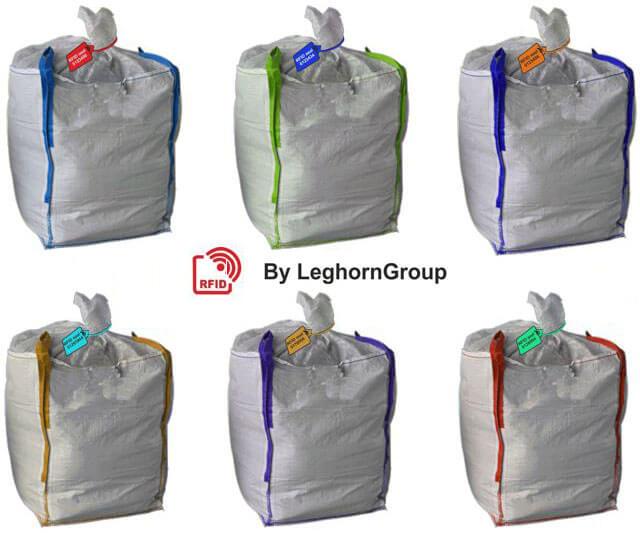 rfid plomben fur sacke mit schlamm farben