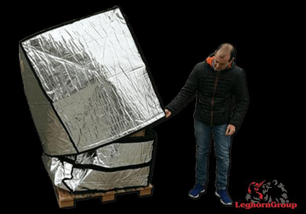 Aluminum Pallet Cover Art: TD 005