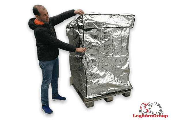 Aluminum Thermal Pallet Cover